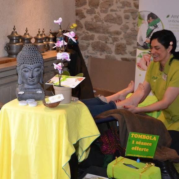 Atelier massage à Nantes