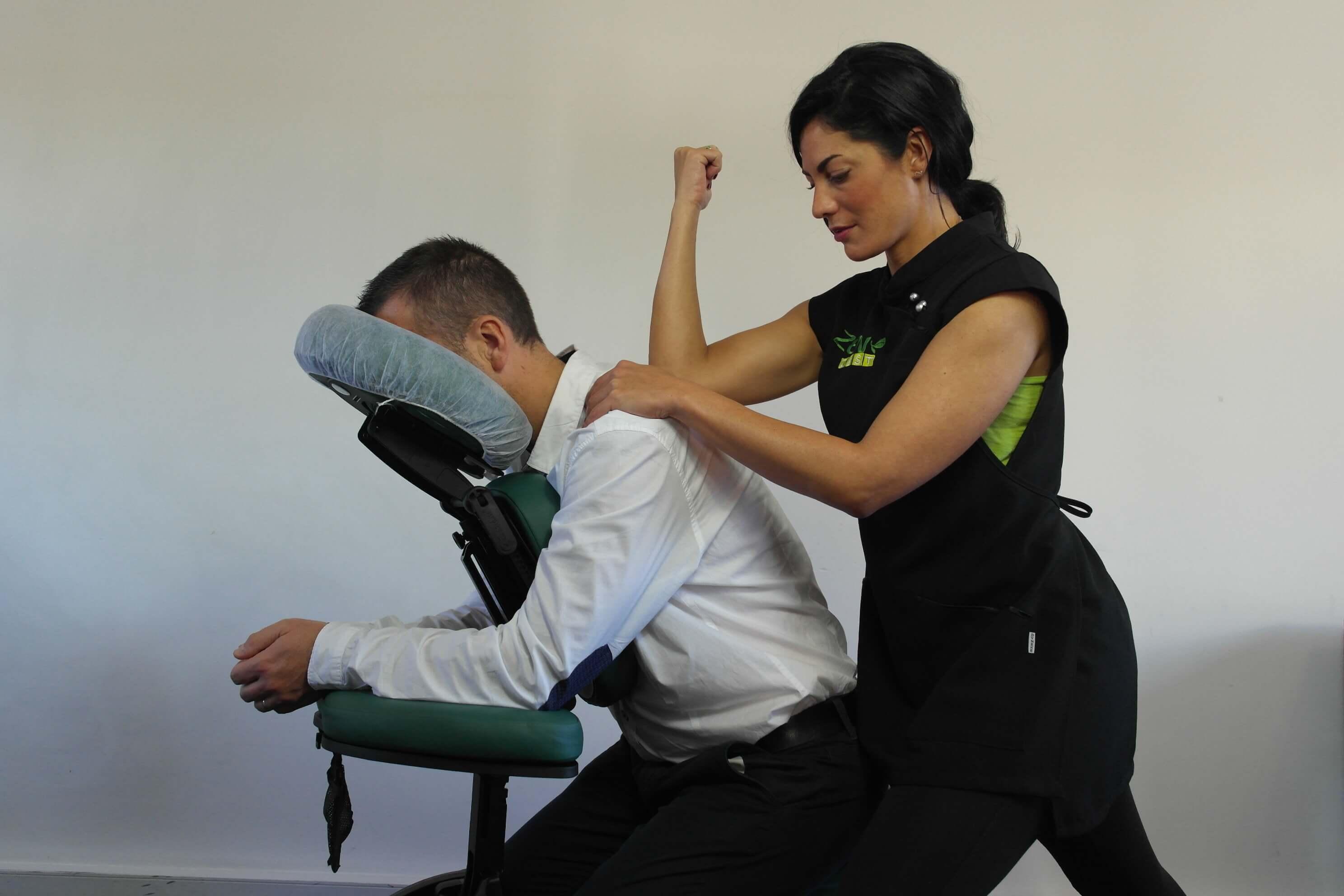 Amma assis votre pause massage détente