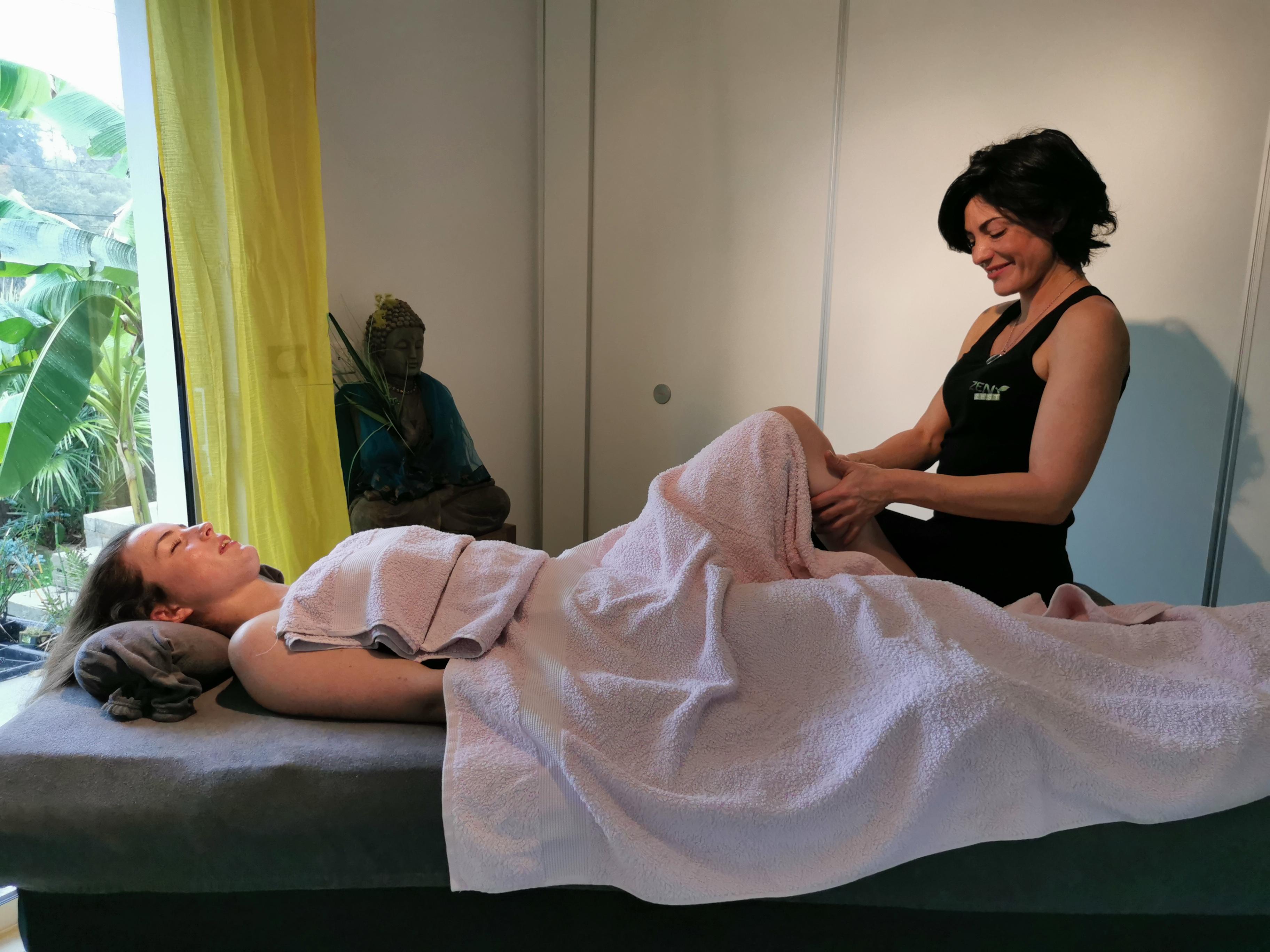 massage détente et bien-être général