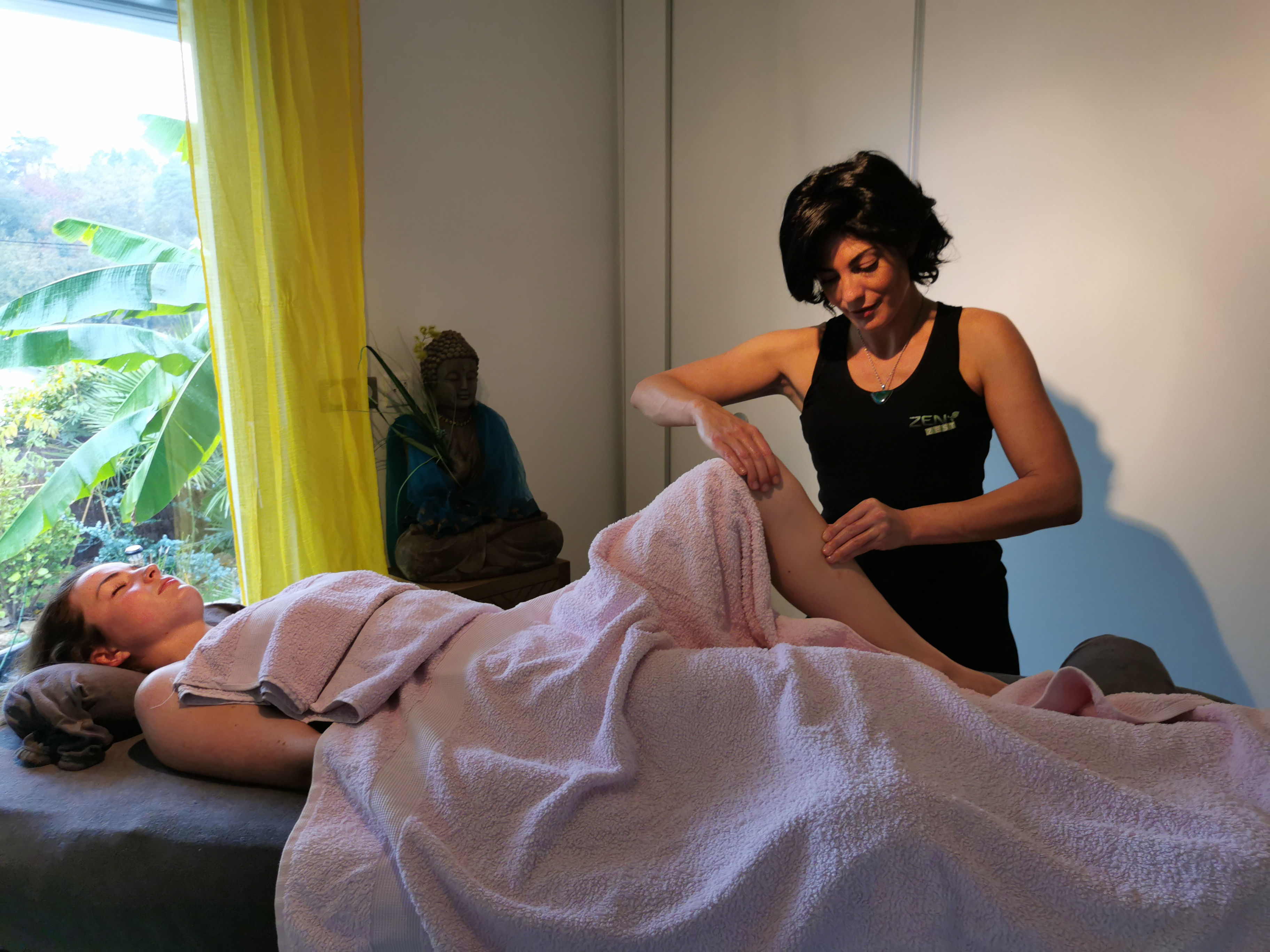 massage aux huiles essentielles bio