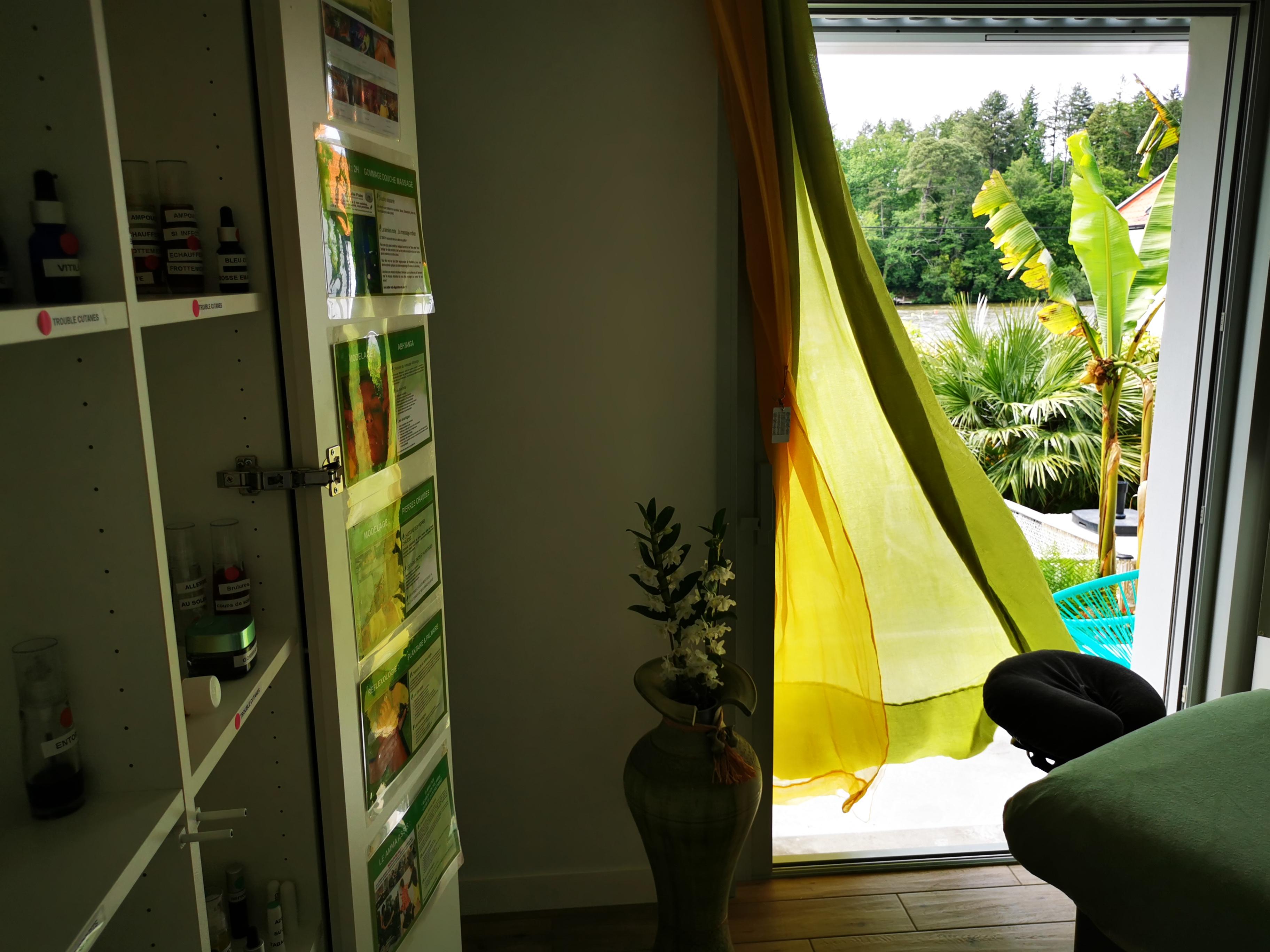 massages aux huiles et plantes